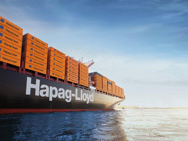 Hapag-Lloyd Container Schiff - Stroomer unterstützt bei der crossmedialen Kommunikation