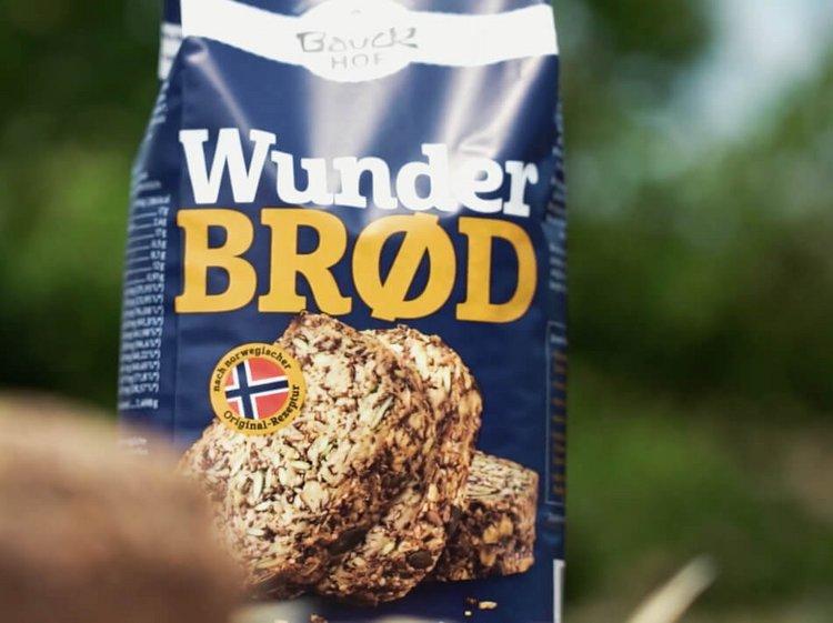 Bio Müsli Packung von Bio Produzent Bauckhof - Produktvideos für Bau